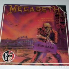 Discos de vinilo: LP MEGADETH - PEACE SELLS... BUT WHO´S BUYING. Lote 51381046