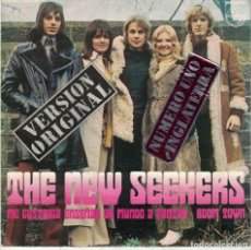 Discos de vinilo: THE NEW SEEKERS - I'D LIKE TO TEACH THE WORLD TO SING / BOOM TOWN (SINGLE ESPAÑOL, PHILIPS 1972). Lote 86260088