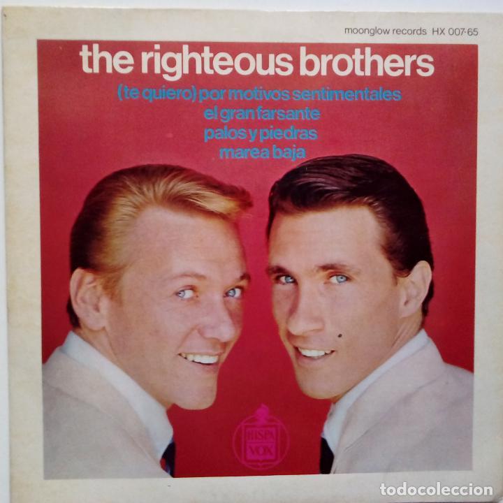 THE RIGHTEOUS BROTHERS- (TE QUIERO) POR MOTIVOS PERSONALES- SPAIN EP 1965- EXC. ESTADO. (Música - Discos de Vinilo - EPs - Pop - Rock Internacional de los 50 y 60)