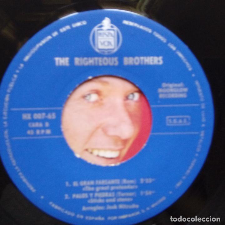 Discos de vinilo: THE RIGHTEOUS BROTHERS- (TE QUIERO) POR MOTIVOS PERSONALES- SPAIN EP 1965- EXC. ESTADO. - Foto 3 - 86263180