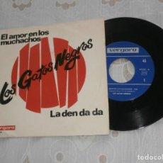 Discos de vinilo: LOS GATOS NEGROS 7´SG EL AMOR EN LOS MUCHACHOS +1 (1967) VINILO NUEVO *COLECCIONISTAS*. Lote 86270272
