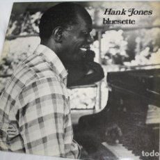 Discos de vinilo: DISCO VINILO LP - HANK JONES BLUESETTE - MADE IN FRANCE . Lote 86271176