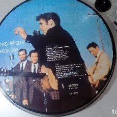 Discos de vinilo: ELVIS PRESLEY - POOR BOY - DENMARK 1983 PICTURE DISC - AR 30018. Lote 86272256