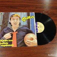 Discos de vinilo: ÚNICO AUTOGRAFO QUICO . EL CHAVO DEL 8 EN LP. FIRMA A MANO. HAND SIGNED. AUTOGRAFIADO. AUTOGRAFA.. Lote 86275320