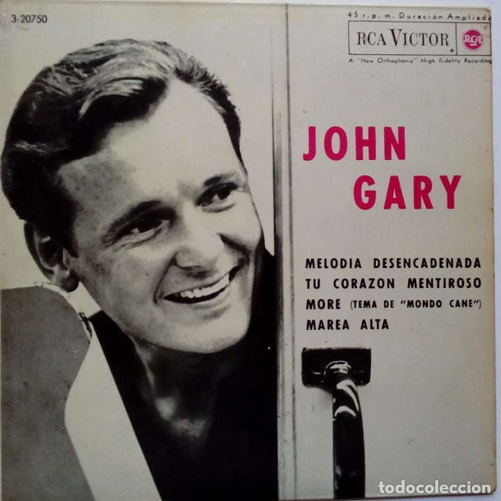 JOHN GARY- MELODIA DESENCADENADA (UNCHAINED MELODY) + 3- SPANISH EP 1964- VINILO EXC. ESTADO. (Música - Discos de Vinilo - EPs - Pop - Rock Internacional de los 50 y 60)