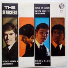 Discos de vinilo: THE SEARCHERS- ADIOS MI AMOR ( GOODBYE MY LOVE)- SPANISH EP 1965- VINILO EXC. ESTADO.. Lote 86275828