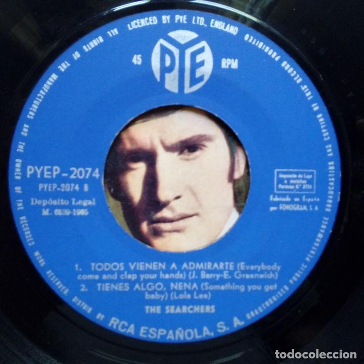 Discos de vinilo: THE SEARCHERS- ADIOS MI AMOR ( GOODBYE MY LOVE)- SPANISH EP 1965- VINILO EXC. ESTADO. - Foto 3 - 86275828