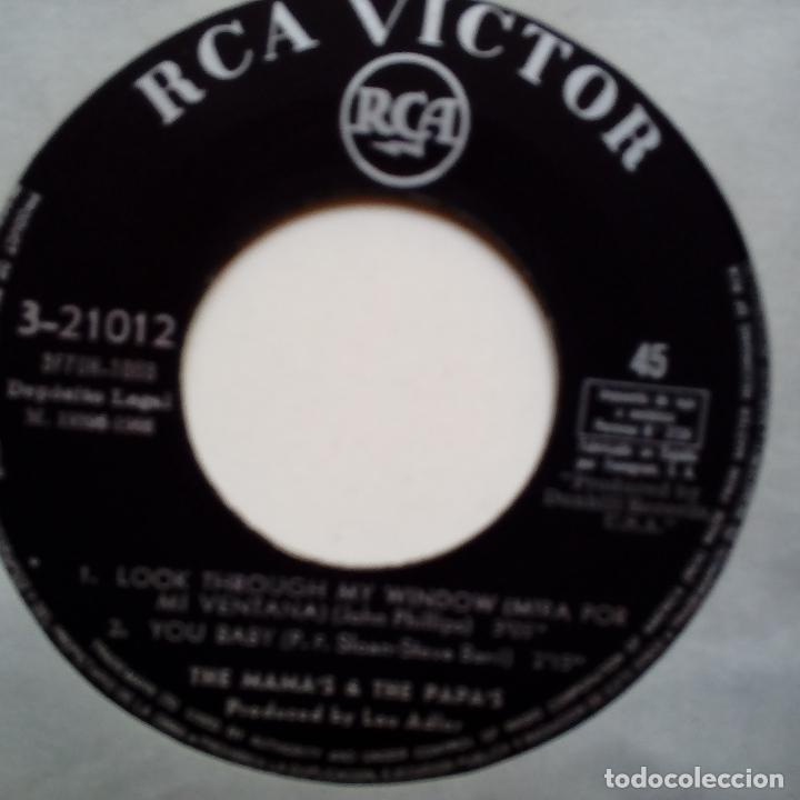 Discos de vinilo: THE MAMAS & THE PAPAS- LOOK THROUGH MY WINDOW +3- SPANISH EP 1966- VINILO EXC. ESTADO. - Foto 4 - 86278980