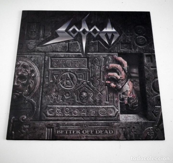 LP SODOM - BETTER OFF DEAD (Música - Discos - LP Vinilo - Heavy - Metal)