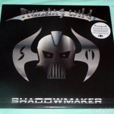 Discos de vinilo: LP RUNNING WILD - SHADOWMAKER. Lote 52894768