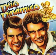 Discos de vinilo: DÚO DINÁMICO / 20 ÉXITOS DE ORO (2LP) 1980 (EMI ODEÓN). Lote 86307956