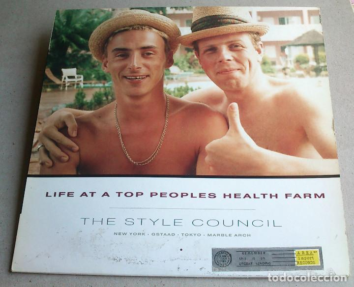 Discos de vinilo: THE STYLE COUNCIL - LIFE AT A TOP PEOPLES HEALTH FARM - 1988 - EP - Foto 1 - 86314832