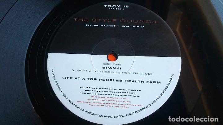 Discos de vinilo: THE STYLE COUNCIL - LIFE AT A TOP PEOPLES HEALTH FARM - 1988 - EP - Foto 3 - 86314832