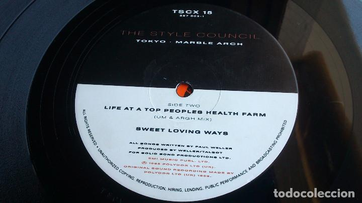 Discos de vinilo: THE STYLE COUNCIL - LIFE AT A TOP PEOPLES HEALTH FARM - 1988 - EP - Foto 6 - 86314832