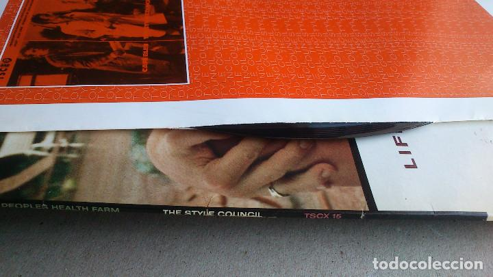Discos de vinilo: THE STYLE COUNCIL - LIFE AT A TOP PEOPLES HEALTH FARM - 1988 - EP - Foto 10 - 86314832