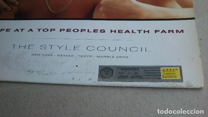 Discos de vinilo: THE STYLE COUNCIL - LIFE AT A TOP PEOPLES HEALTH FARM - 1988 - EP - Foto 11 - 86314832