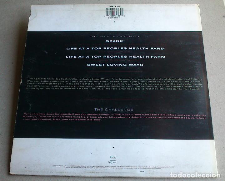 Discos de vinilo: THE STYLE COUNCIL - LIFE AT A TOP PEOPLES HEALTH FARM - 1988 - EP - Foto 12 - 86314832