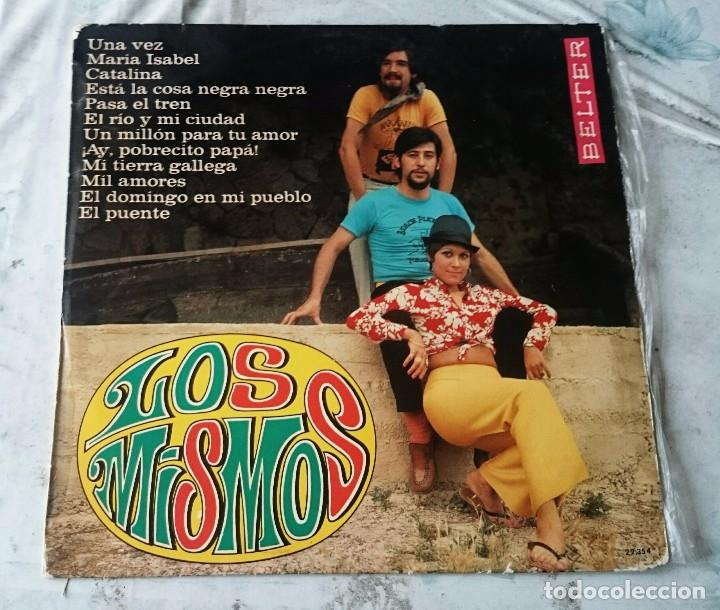LOS MISMOS 12 TEMAS (BELTER 1969) (Música - Discos - LP Vinilo - Grupos Españoles 50 y 60)