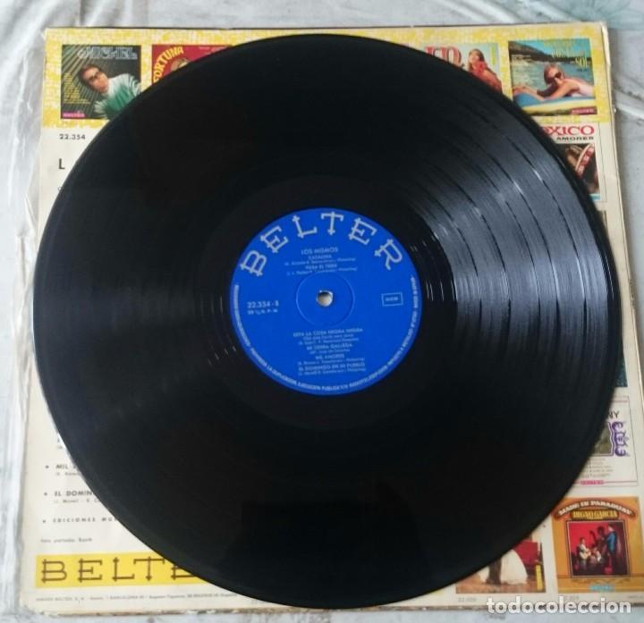 Discos de vinilo: Los Mismos 12 temas (Belter 1969) - Foto 3 - 86324108