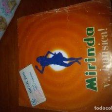 Discos de vinilo: MIRINDA Y MÚSICA. MIGUEL RIOS EL RIO VUELVO A GRANADA. MB1. Lote 86330996