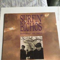 Discos de vinilo: SURFIN BICHOS-FOTOGRAFO DEL CIELO-EDICION ORIGINAL-1991-ENCARTE+LETRAS-VINILO NUEVO. Lote 55351013