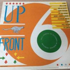 Discos de vinilo: UP FRONT 6. REMIXED VERSIONS. SYBIL, MEL & KIM, MILLIE SCOTT Y OTROS. SERIUS RECORDS 1987.. Lote 86333356