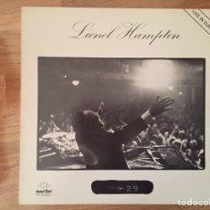 Discos de vinilo: LIONEL HAMPTON: LIVE IN EUROPE. Lote 86336159
