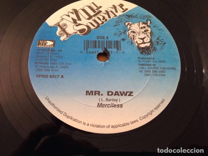 Discos de vinilo: MERCILESS/LITTLE CHRIS-maxi reggae dancehall vp records - Foto 3 - 86337144