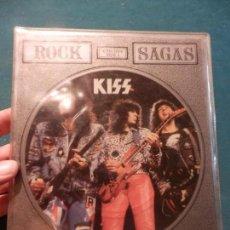 Discos de vinilo: KISS - THE CHRIS TETLEY INTERVIEWS - ROCK SAGAS - LIMITED EDITION - DOBLE SINGLE PICTURE DISC. Lote 86344144