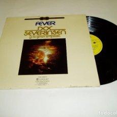 Discos de vinilo: FEVER DOC SEVERISEN Y SU GRAN ORQUESTA LP DOBLE PORTADA 1976. Lote 86352736