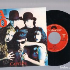 Discos de vinilo: CALO - CAPITÁN (SINGLE 7'' PROMO 1990, POLYDOR CALO-1) . Lote 86354704