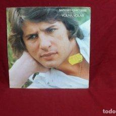 Discos de vinilo: SANDRO GIACOBBE / CANTA EN ESPAÑOL VOLAR VOLAR / NINA / CBS 6841 DEL 1978.. Lote 194631447