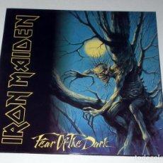 Discos de vinilo: LP IRON MAIDEN - FEAR OF THE DARK (EDICION RUSA). Lote 56886519
