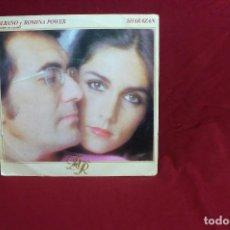 Discos de vinilo: AL BANO Y ROMINA POWER, CANTAN EN ESPAÑOL / SHARAZAN / NA NA NA / EPIC A-1593 DEL 1981.. Lote 86366912