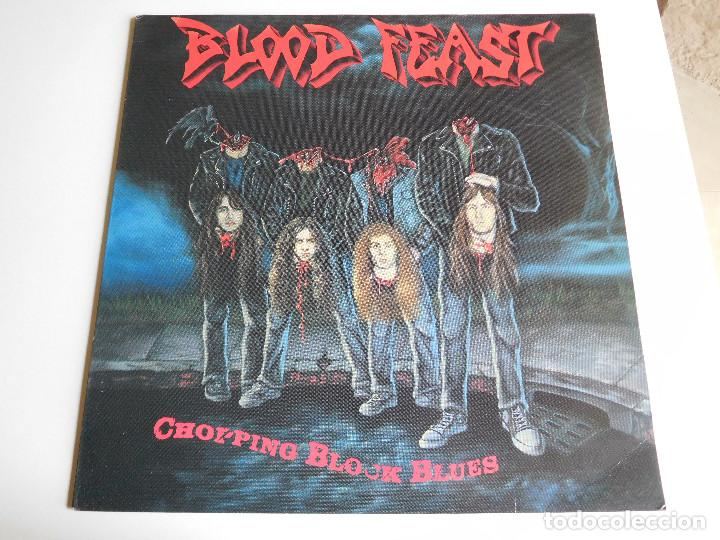 BLOOD FEAST. LP. CHOPPING BLOCK BLUES. FLAMETRADER 1990 (Música - Discos - LP Vinilo - Heavy - Metal)