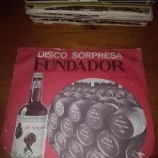 Discos de vinilo: DISCO SORPRESA FUNDADOR. ALEGRE NAVIDAD. MB1. Lote 86374424
