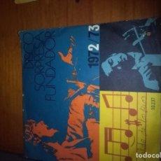 Discos de vinilo: DISCO SORPRESA FUNDADOR. WALDO DE LOS RIOS. MB1. Lote 86377888