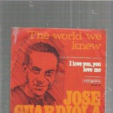 Discos de vinilo: JOSE GUARDIOLA. Lote 86379744