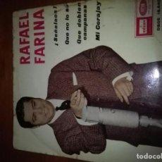 Discos de vinilo: RAFAEL FARINA. SEÑALOS, MB2. Lote 86384576