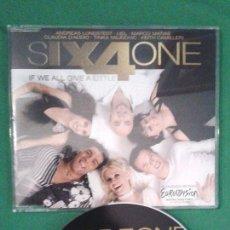 Discos de vinilo: SIX4ONE - IF WE ALL GIVE A LITTLE EUROVISIÓN 2006 SUIZA. Lote 102996768