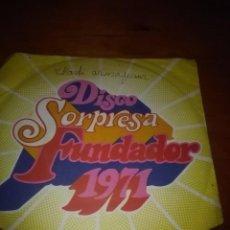 Discos de vinilo: DISCO SORPRESA FUNDADOR CHARLES AZNAYOUR. MB1. Lote 86391080