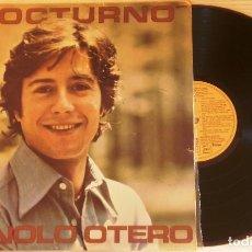 Discos de vinilo: LP MANOLO OTERO NOCTURNO. Lote 184784883