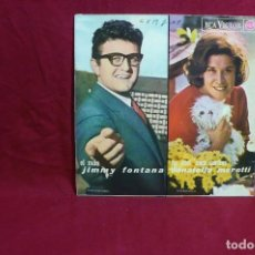 Discos de vinilo: JIMMY FONTANA / DONATELLA MORETTI / RITA PAVONE / GIANNI MORANDI / RCA VICTOR 1965.. Lote 86403404