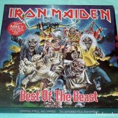 Discos de vinilo: IRON MAIDEN - BEST OF THE BEAST BOX SET 4 LP. Lote 56886591