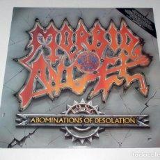 Discos de vinilo: LP MORBID ANGEL - ABOMINATIONS OF DESOLATION 1991. Lote 68889541