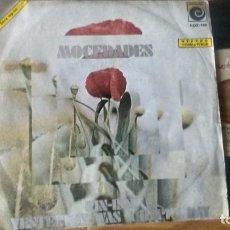 Discos de vinilo: SINGLE (VINILO) DE MOCEDADES AÑOS 70. Lote 86415748