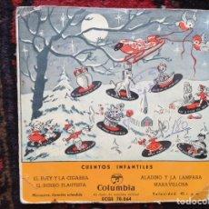 Discos de vinilo: CUENTOS INFANTILES. COLUMBIA. Lote 86418115