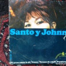 Discos de vinilo: SANTO Y JOHNNY. Lote 86421331