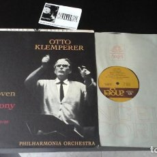 Discos de vinilo: ? OTTO KLEMPERER, BEETHOVEN ?– SYMPHONY NO. 7 IN A MAJOR, OP. 92 LP: ANGEL RECORDS ?– S35945 USA . Lote 86431180