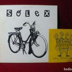 Discos de vinilo: SOLEX THE HOUSE OF HULK / LA COSA ESA / WALL STREET YUPPIE / DISCOS ¡ ALEHOP! 1995.. Lote 86433624